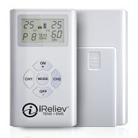 ET-7070 TENS Unit and EMS Therapy by iReliev