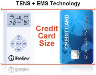 TENS EMS Combo Muscle Stimulator