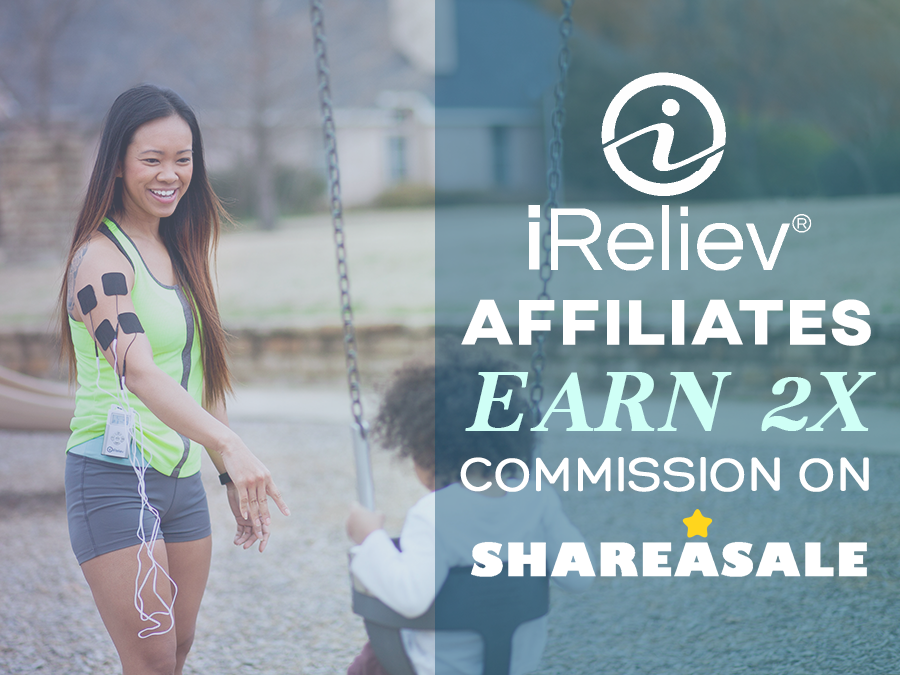 iReliev Affiliate commission banner