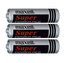 TENS Unit Batteries Maxell Super Power Ace