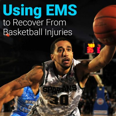 Recovering from Basketball injuries with Muscle Stimulator