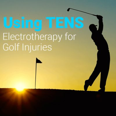 Using TENS electrotherapy for Golf Injuries