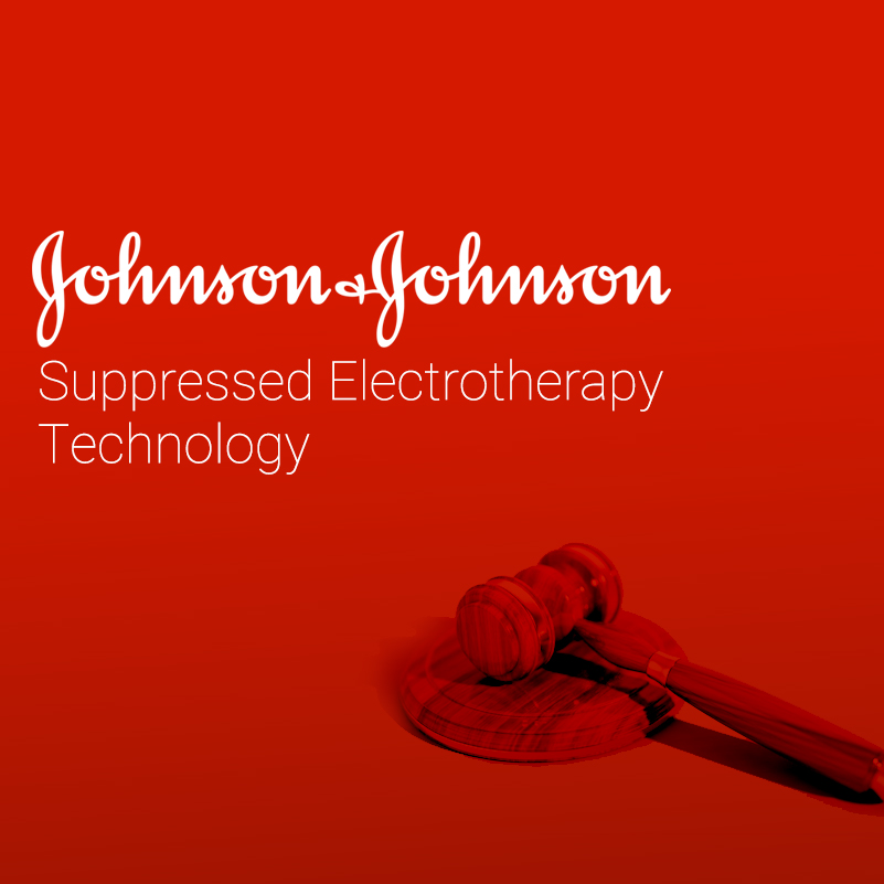 Johnson and Johnson Supressed Electrotherapy Technology
