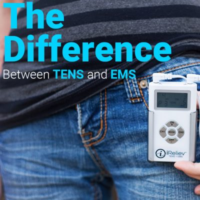 Difference between TENS and EMS