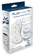 ET-5454 PlayMakar Wireless Pads Refill Kit