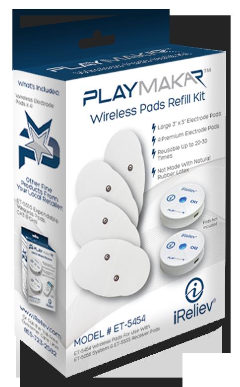 ET-5454 PlayMakar Wireless Pads Refill Kit