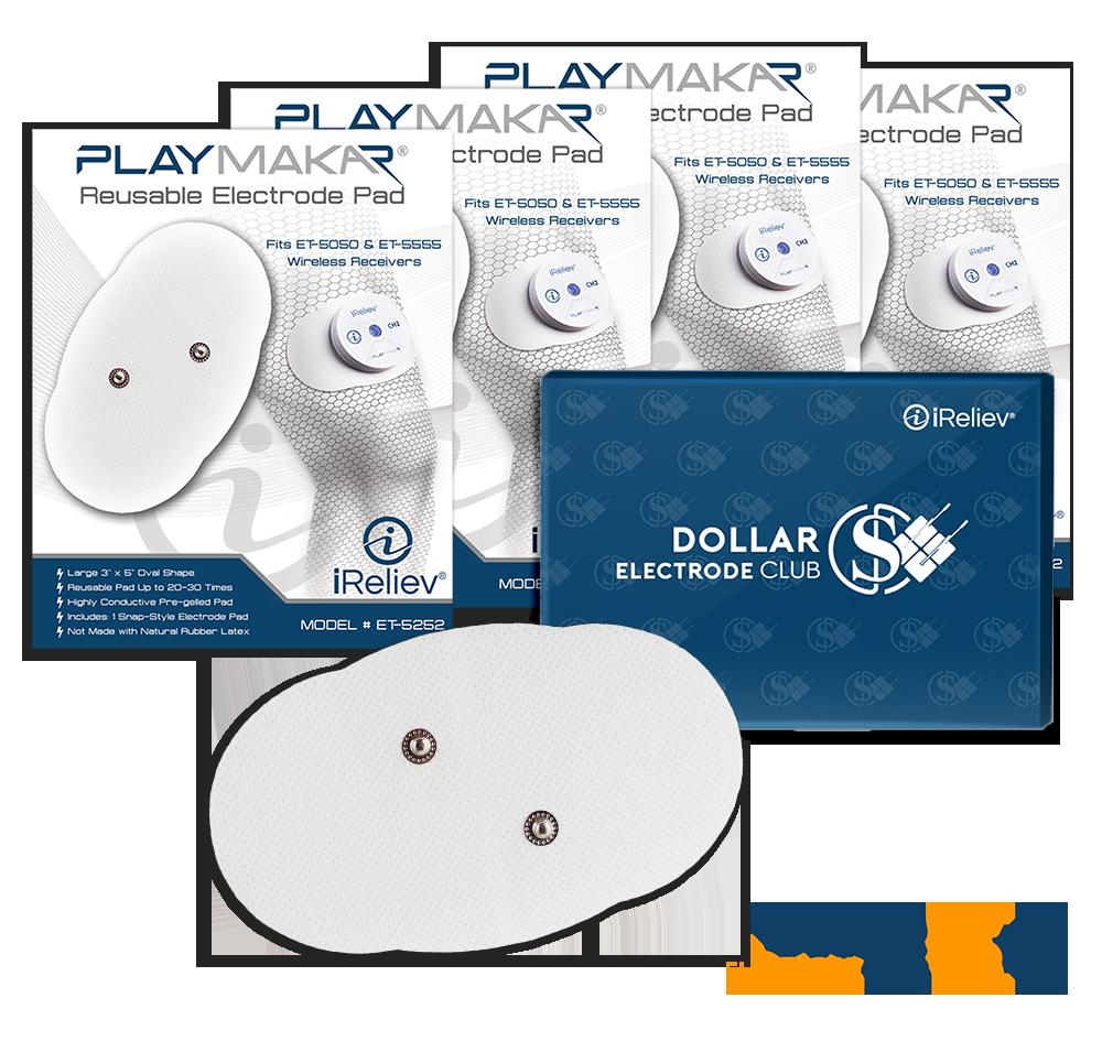 PLAYMAKAR PlayMakar Wireless TENS EMS Electrode Pads