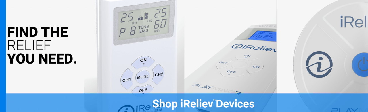 Shop iReliev Devices