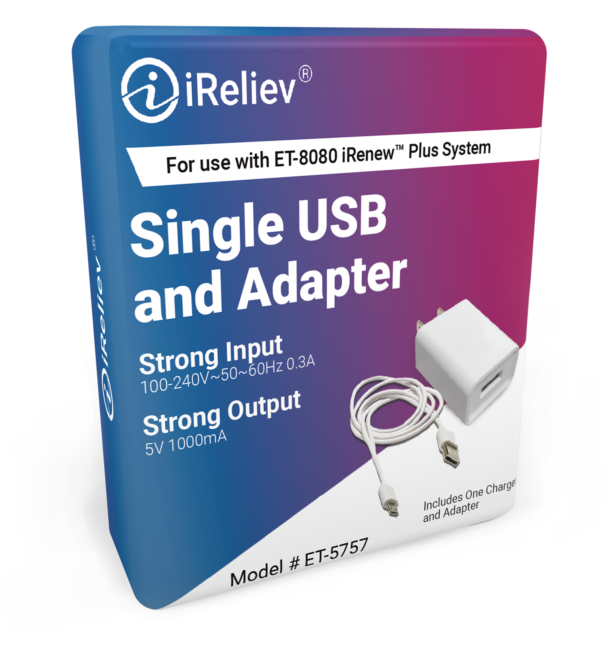 USB Charging Cable & Adapter