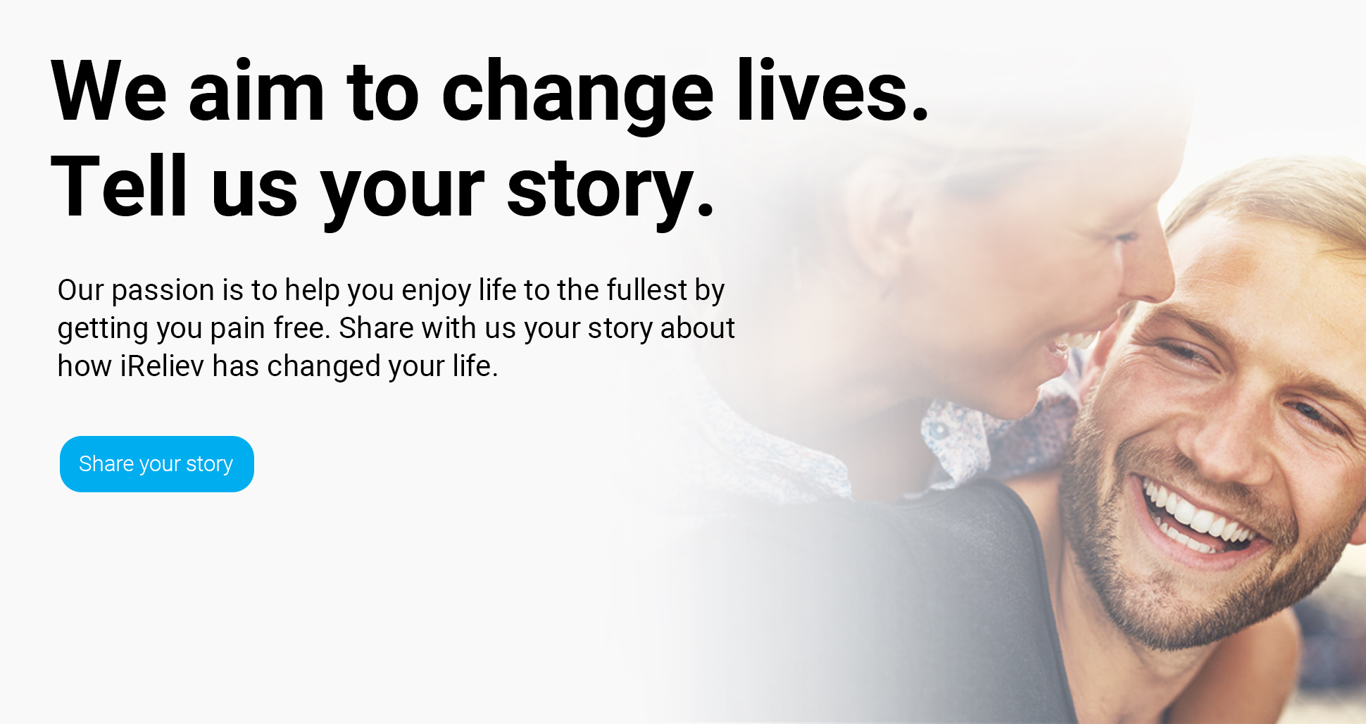 Share your story with iReliev