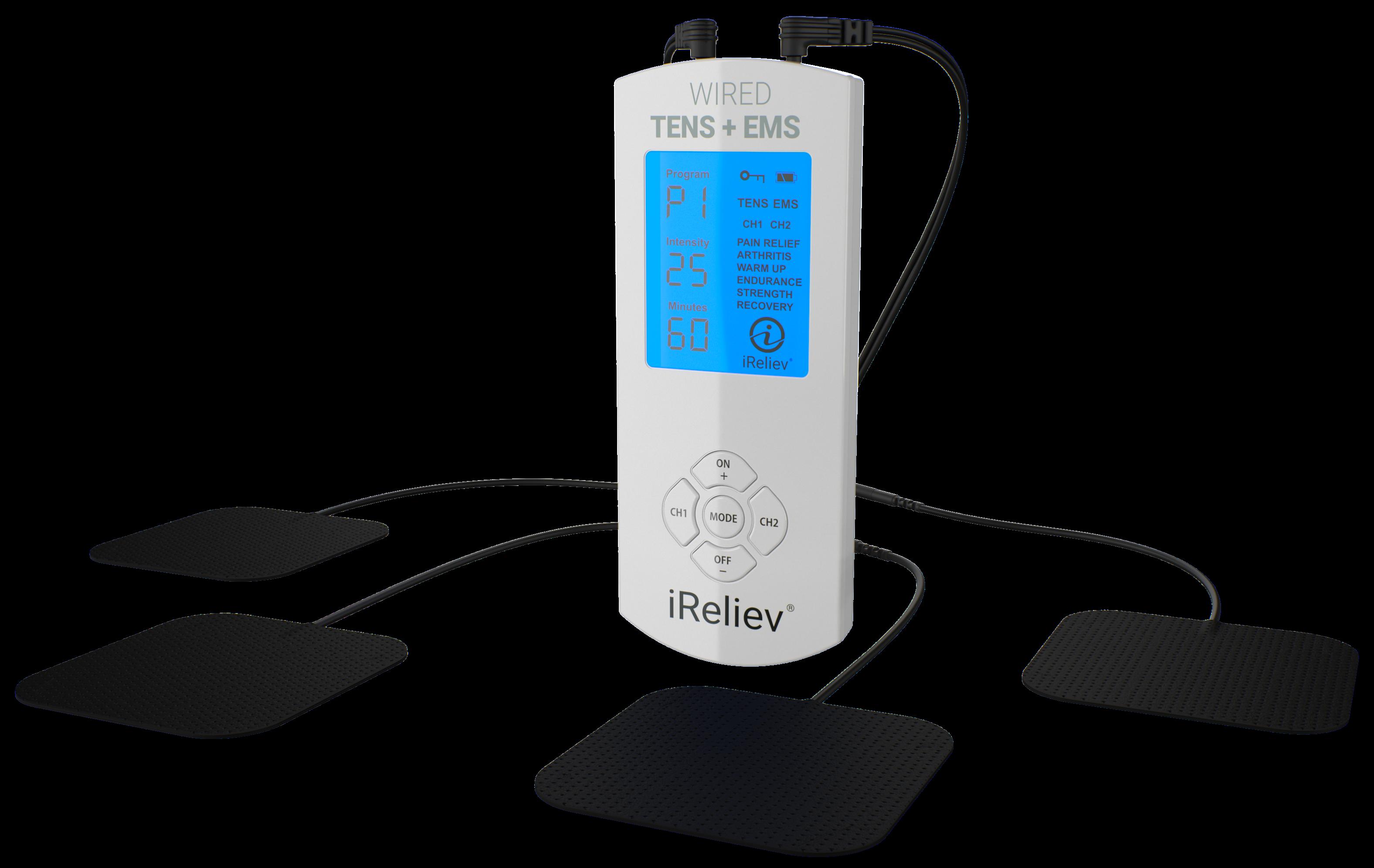 TENS Unit + EMS Muscle Stimulator