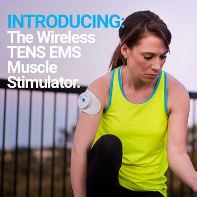 Introducing the wireless TENS EMS muscle stimulator