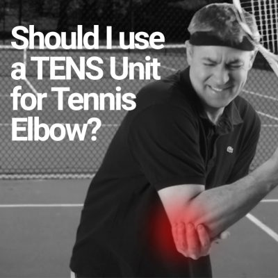 Should I use a TENS unit for tennis elbow