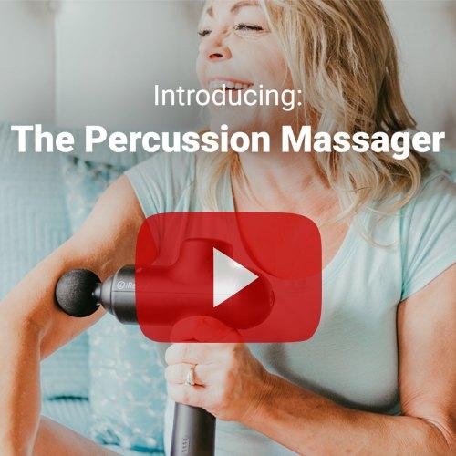 iReliev Percussion Massage Gun